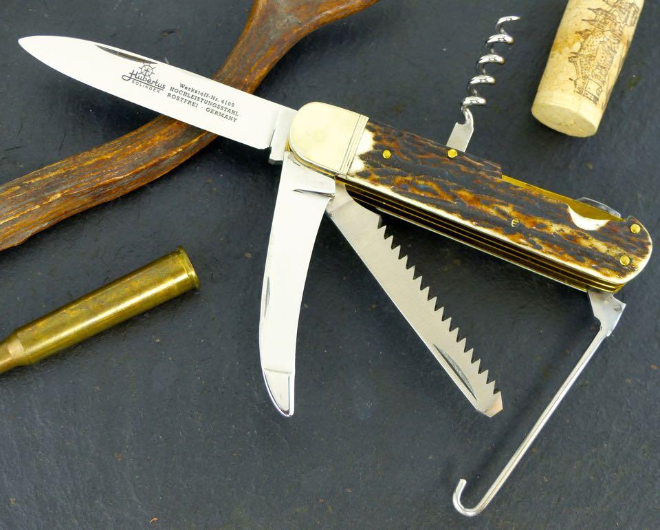 Fold Up Blades : Hubertus german hunting pocket folding knife quot blade w