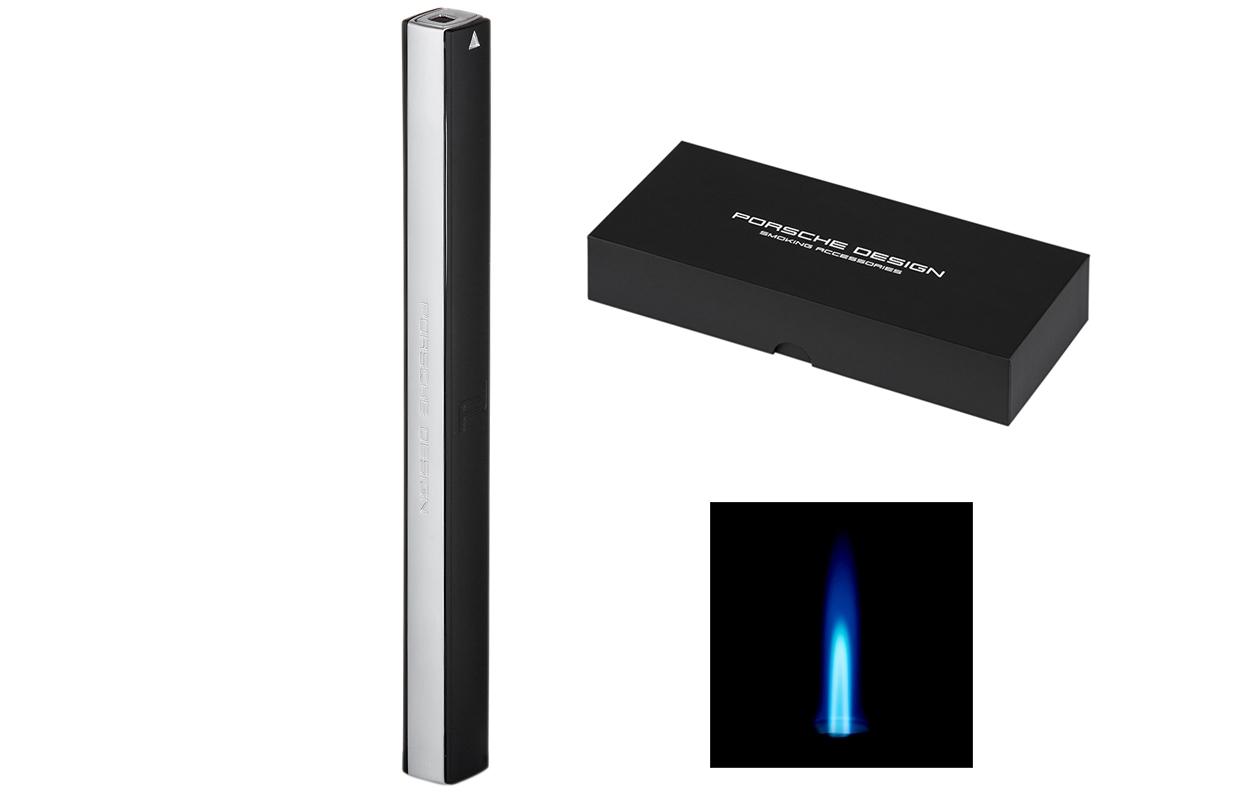 BLACK *NEW* PORSCHE DESIGN P3643 CANDLE CIGAR LIGHTER